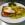 Leberkäse mit Ei und Röstkartoffeln